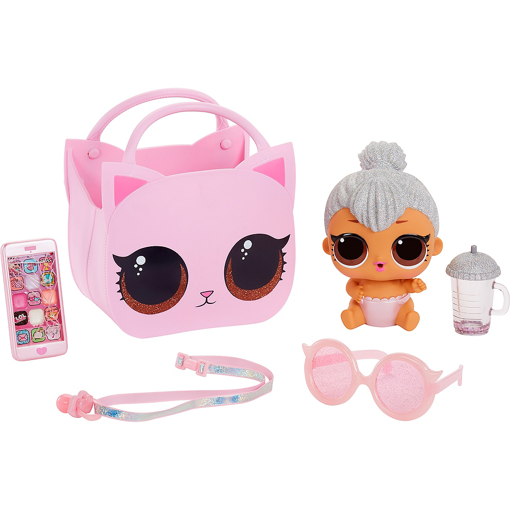L.O.L. Surprise! Ooh La La Baby Surprise Lil Kitty Queen with Purse & Makeup Surprises Image #3