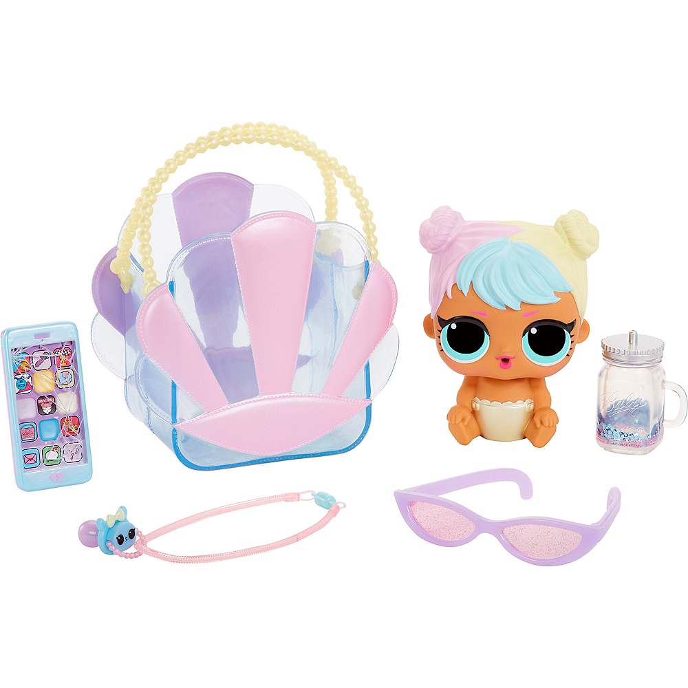 L.O.L. Surprise! Ooh La La Baby Surprise Lil Kitty Queen with Purse & Makeup Surprises Image #4