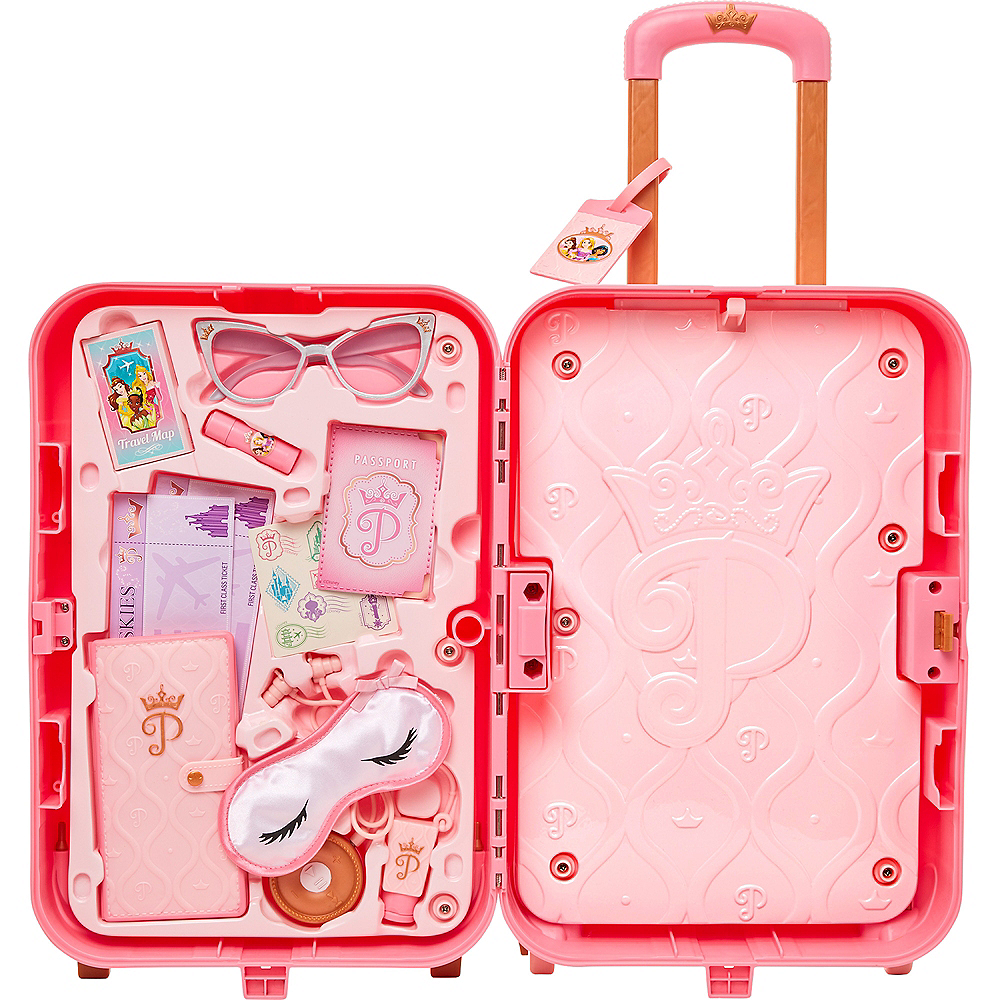 Disney Princess Style Collection Play Suitcase Travel Set Image #2