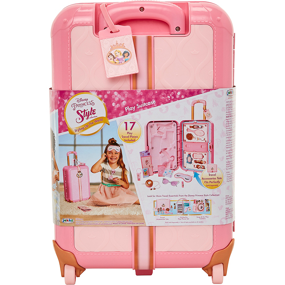 Disney Princess Style Collection Play Suitcase Travel Set Image #4