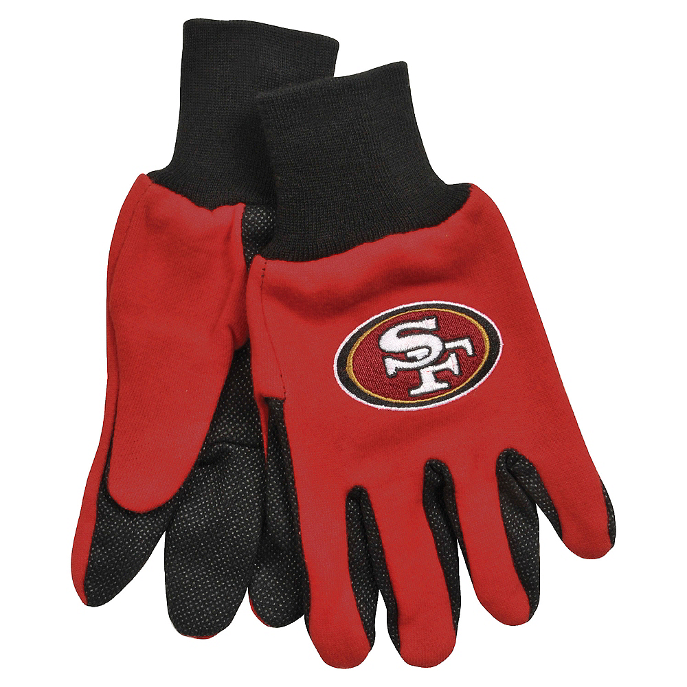 San Francisco 49ers Gloves Image #1