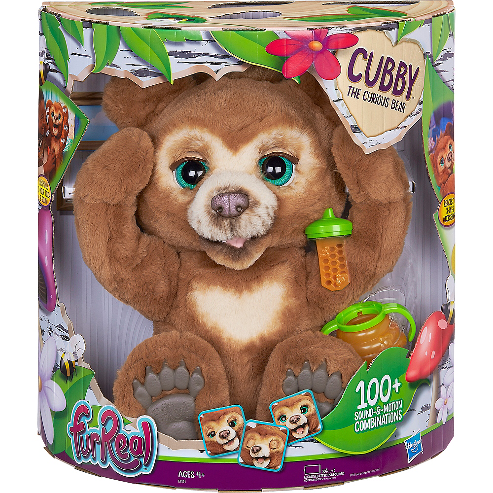 FurReal Friends Cubby The Bear Image #4