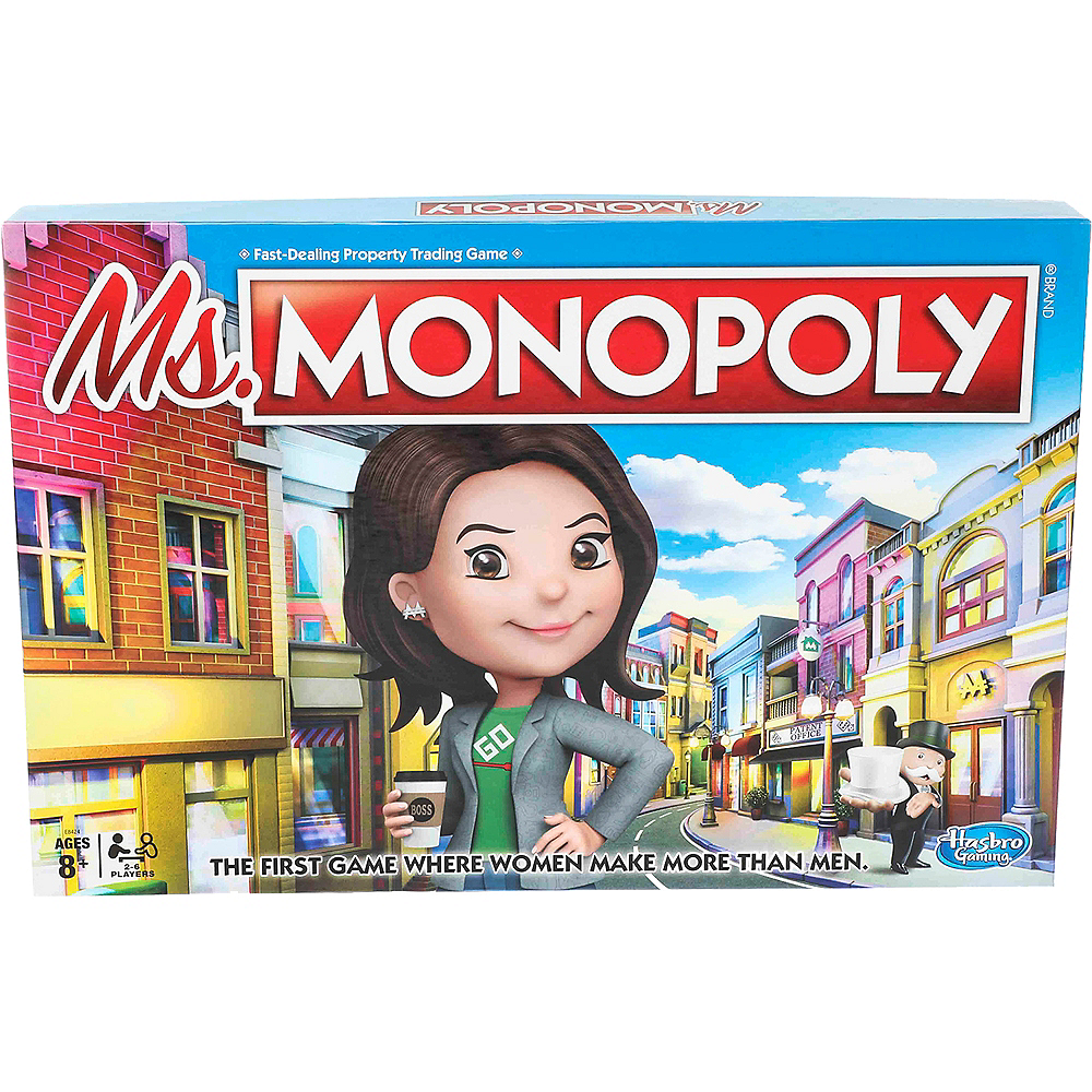 Ms. Monopoly Board Game Image #1