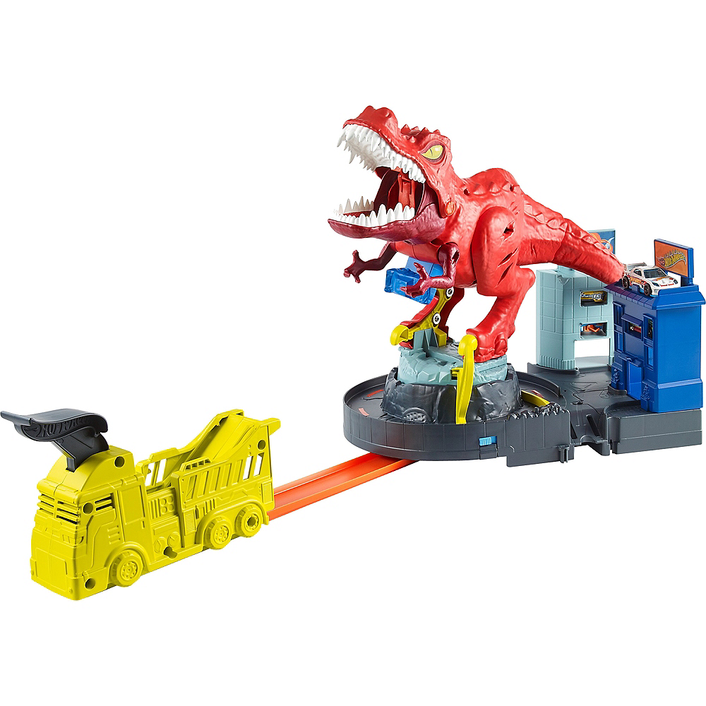 Nav Item for Hot Wheels City T-Rex Rampage Image #1