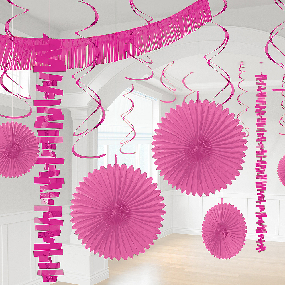 Nav Item for Bright Pink Decorating Kit, 18pc Image #1