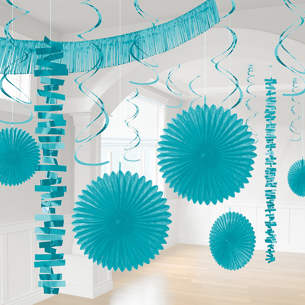 Caribbean Blue Decorating Kit, 18pc Image #1