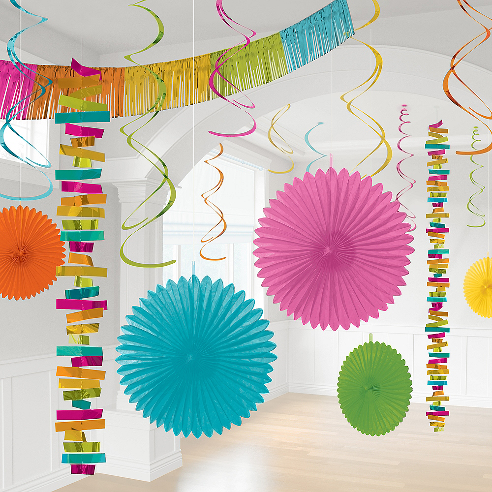 Bright Multicolor Decorating Kit, 18pc Image #1