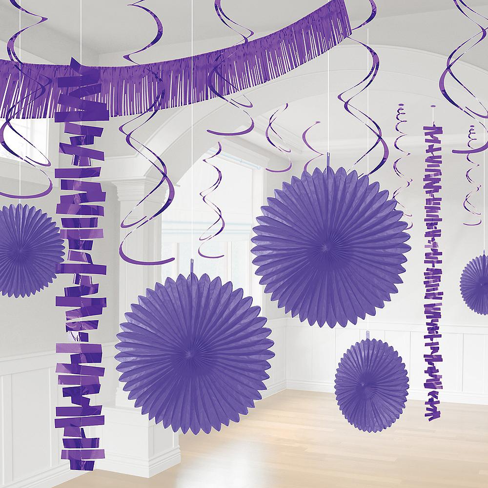 Purple Decorating Kit, 18pc Image #1