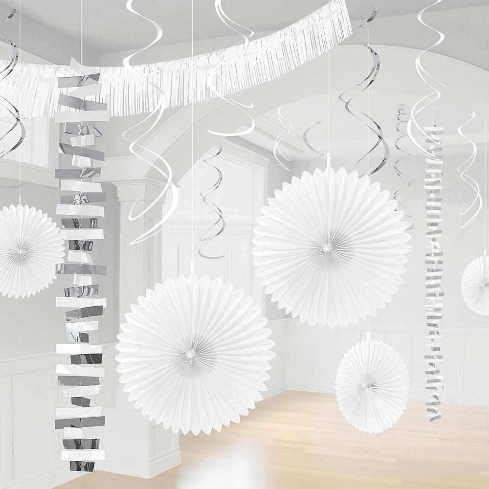White & Silver Decorating Kit, 18pc Image #1