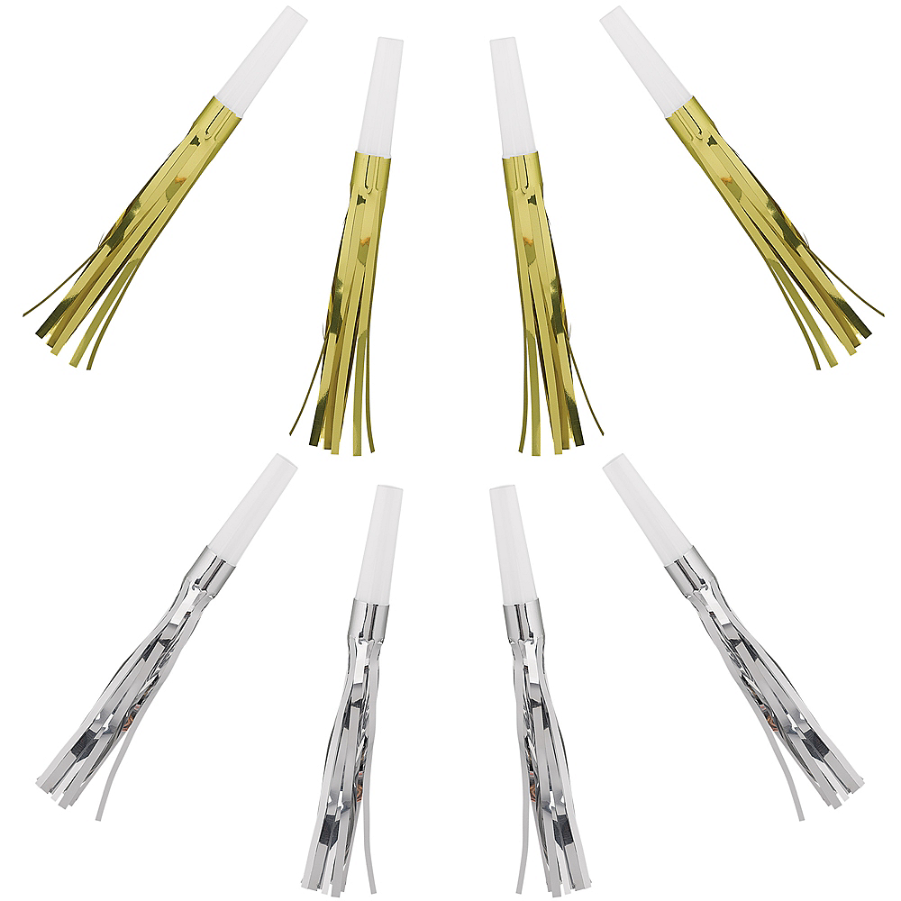 Metallic Gold & Silver Squawkers  30ct Image #1