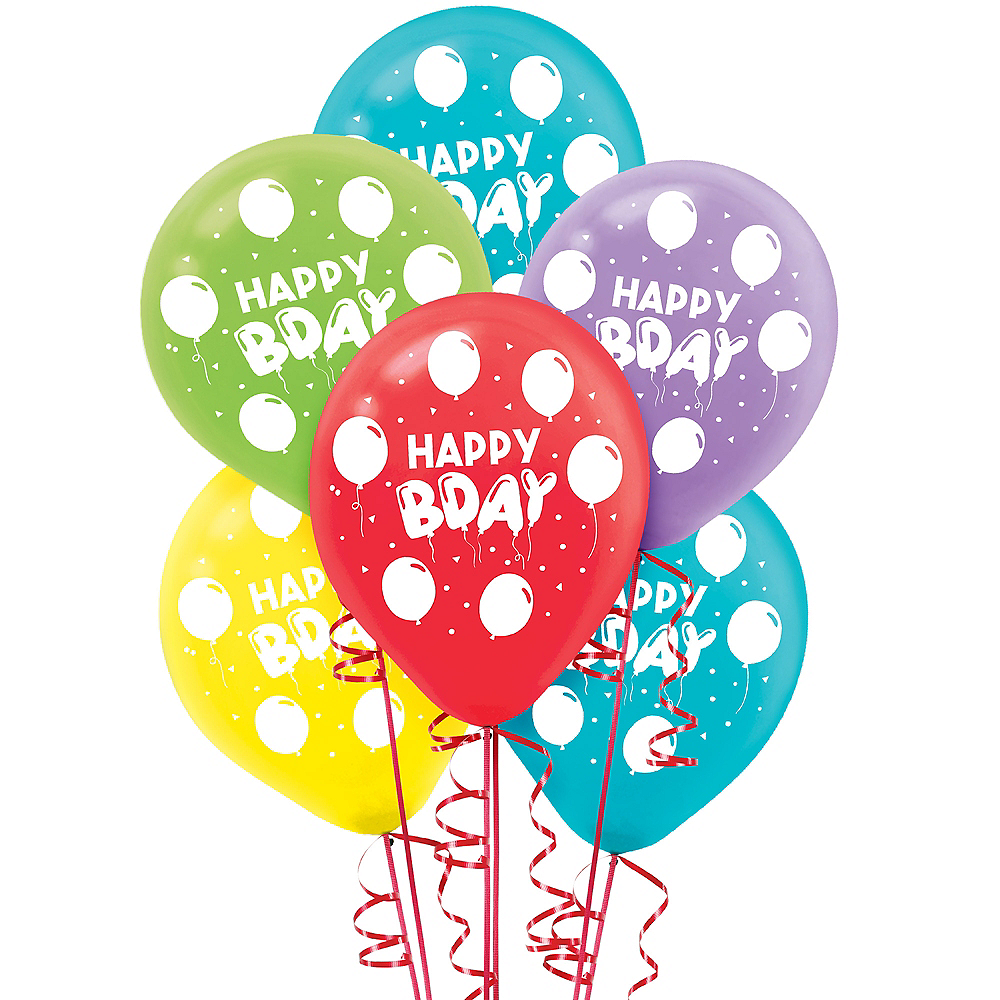 Balloon Birthday Celebration Balloons  72ct Image #1