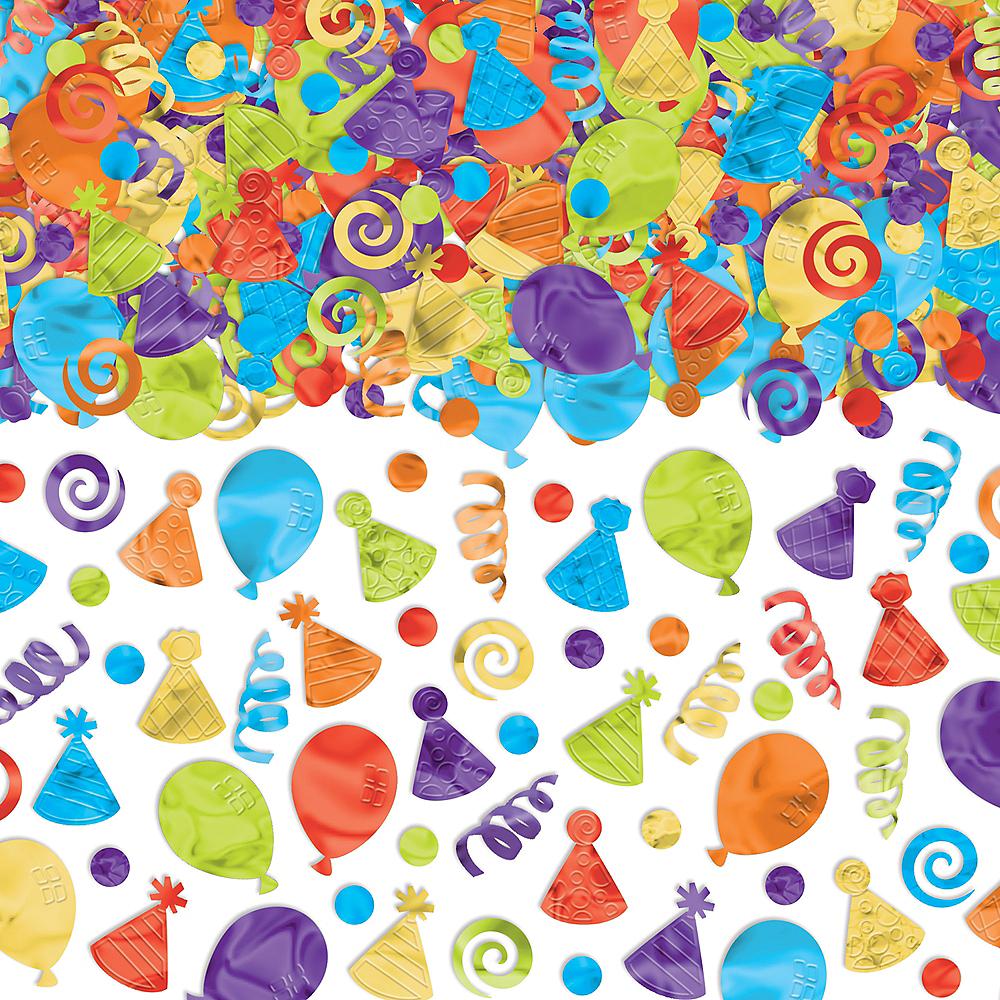 Balloon Birthday Celebration Confetti Image #1