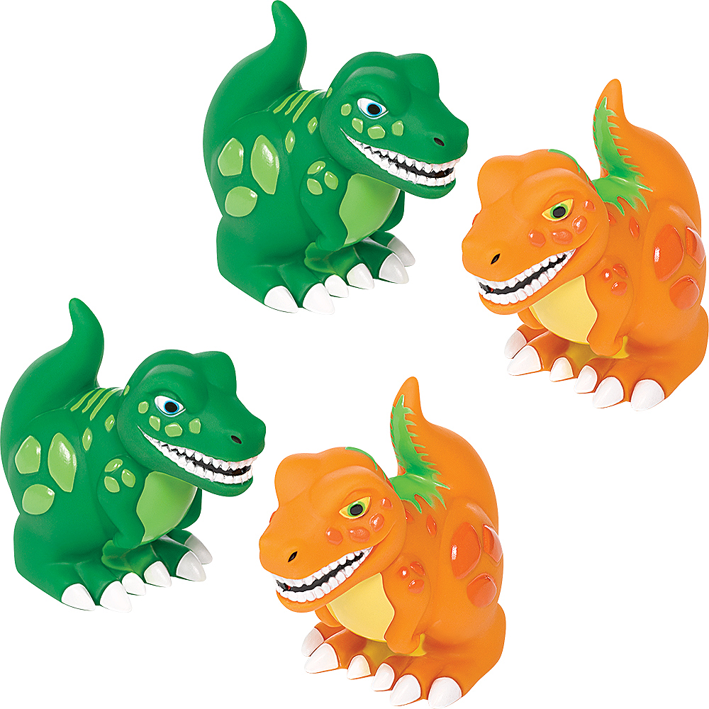 Dinosaur Squirt Toys 4ct Image #1