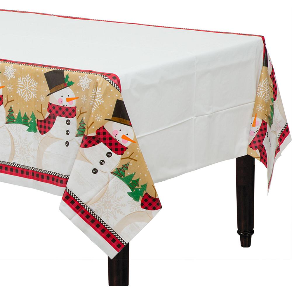 Winter Wonder Snowman Tableware Kit for 56 Guests Image #7