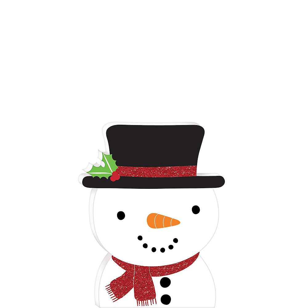 Winter Wonder Snowman Tableware Kit for 56 Guests Image #9