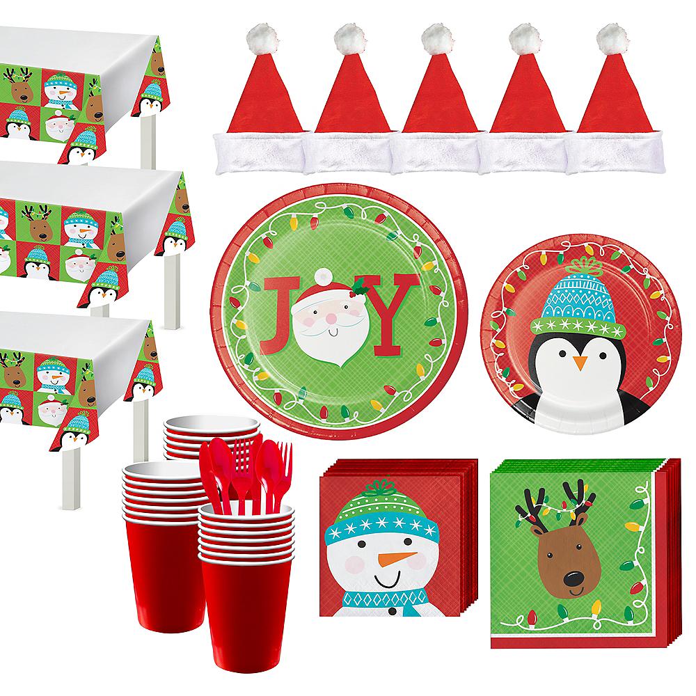 Friends of Santa Tableware Kit for 56 Guests Image #1