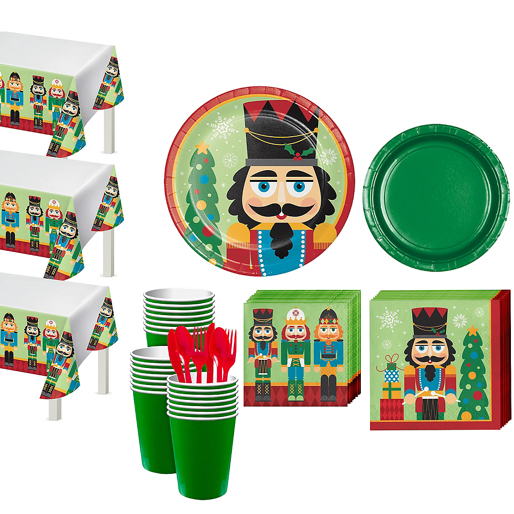 Nutcracker Tableware Kit for 56 Guests Image #1