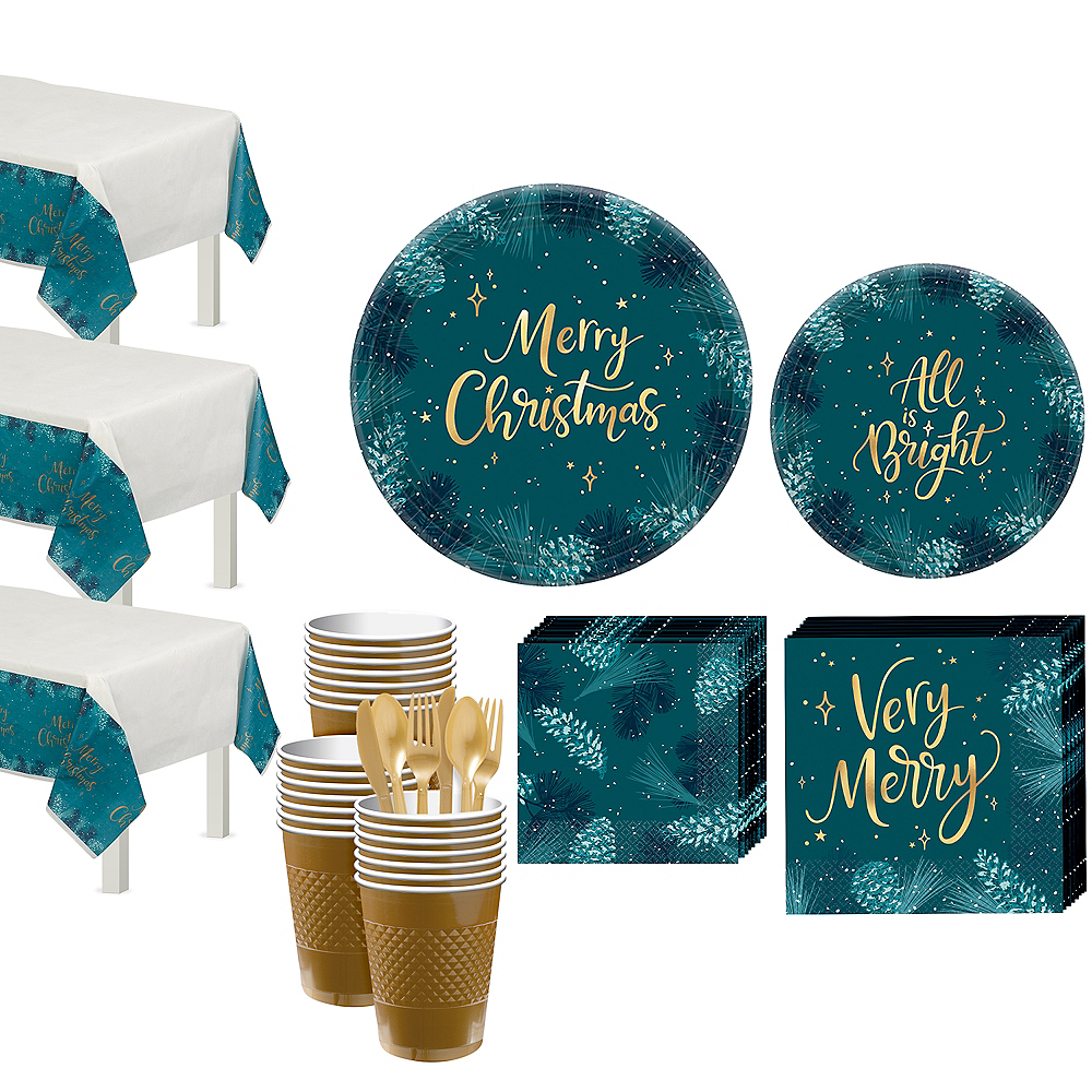 Very Merry Tableware Kit for 56 Guests Image #1