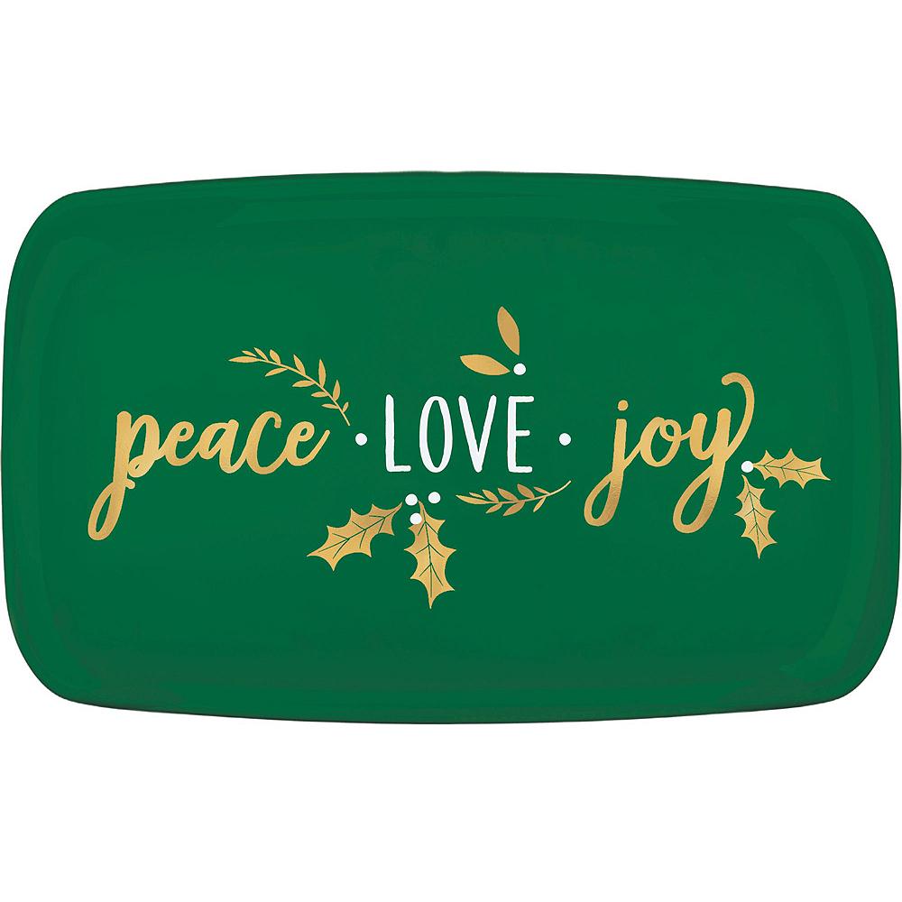 Peace Love Joy Dessert Tableware Kit for 32 Guests Image #5