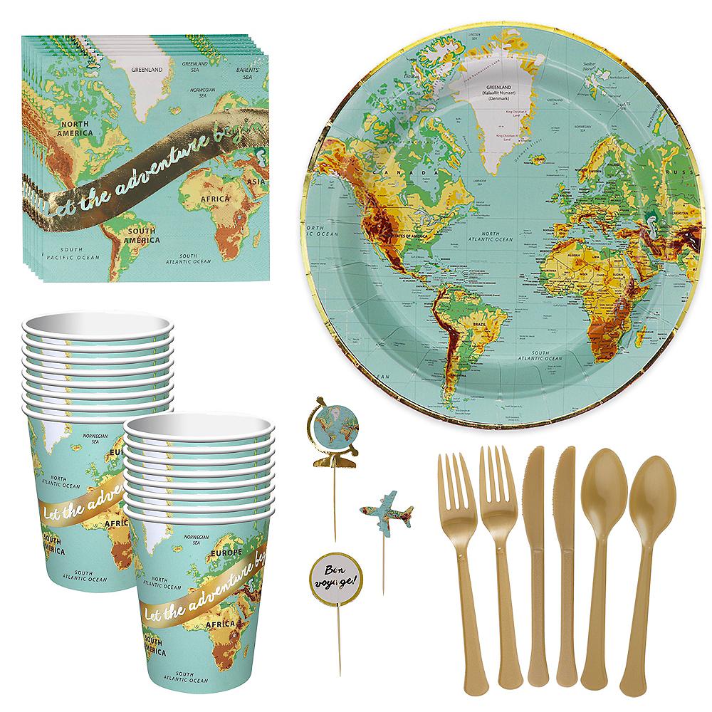 Bon Voyage Tableware Kit for 16 Guests Image #1
