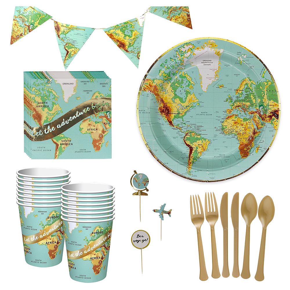 Bon Voyage Tableware Kit for 32 Guests Image #1