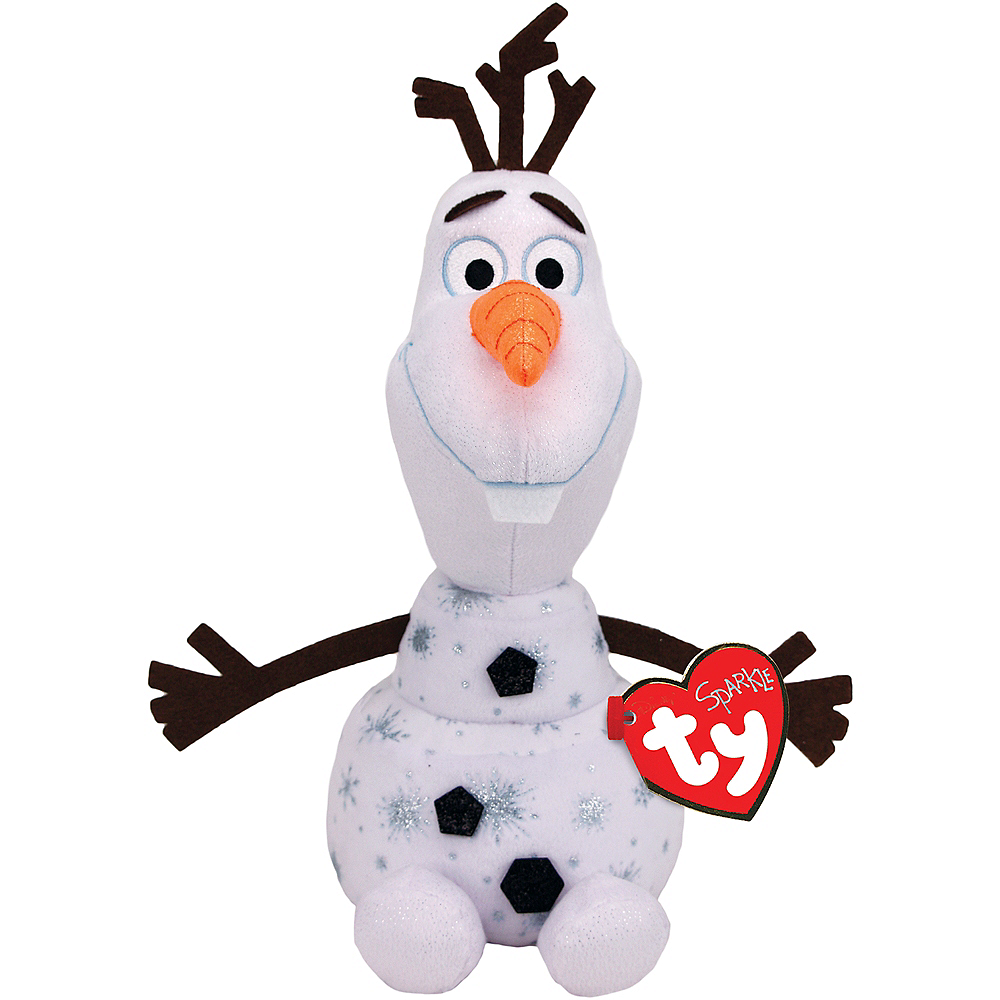 Nav Item for TY Sparkle Olaf Plush - Frozen 2 Image #1
