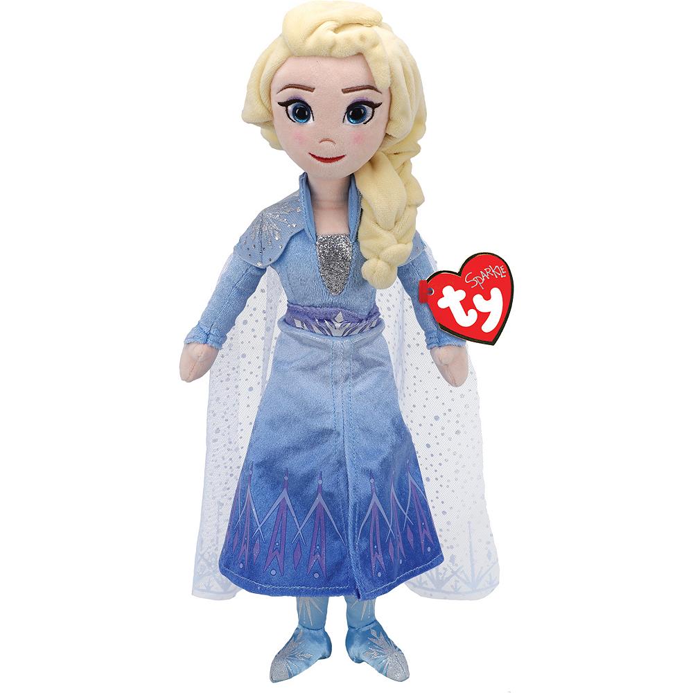TY Sparkle Elsa Plush - Frozen 2 Image #1