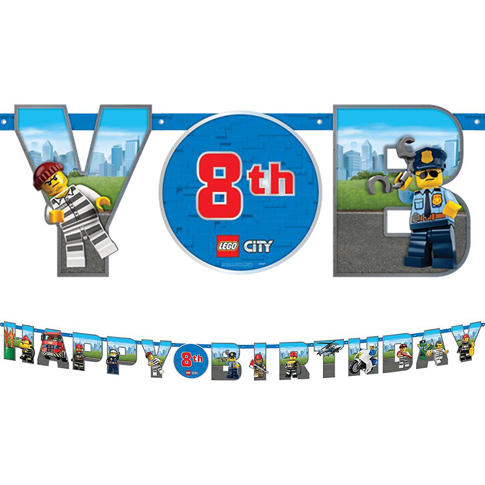 LEGO City Birthday Banner Kit Image #1