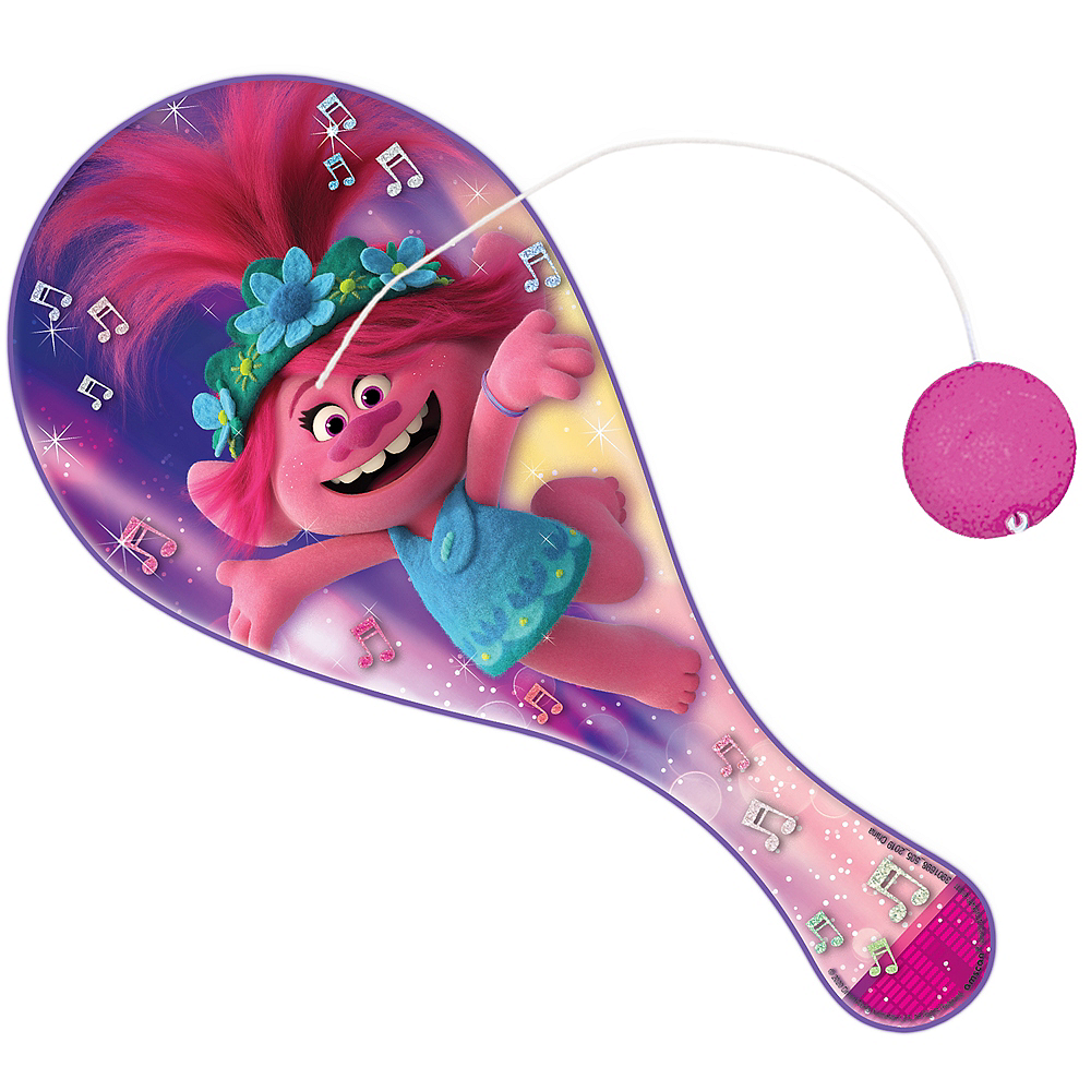 Trolls World Tour Paddle Ball Image #1