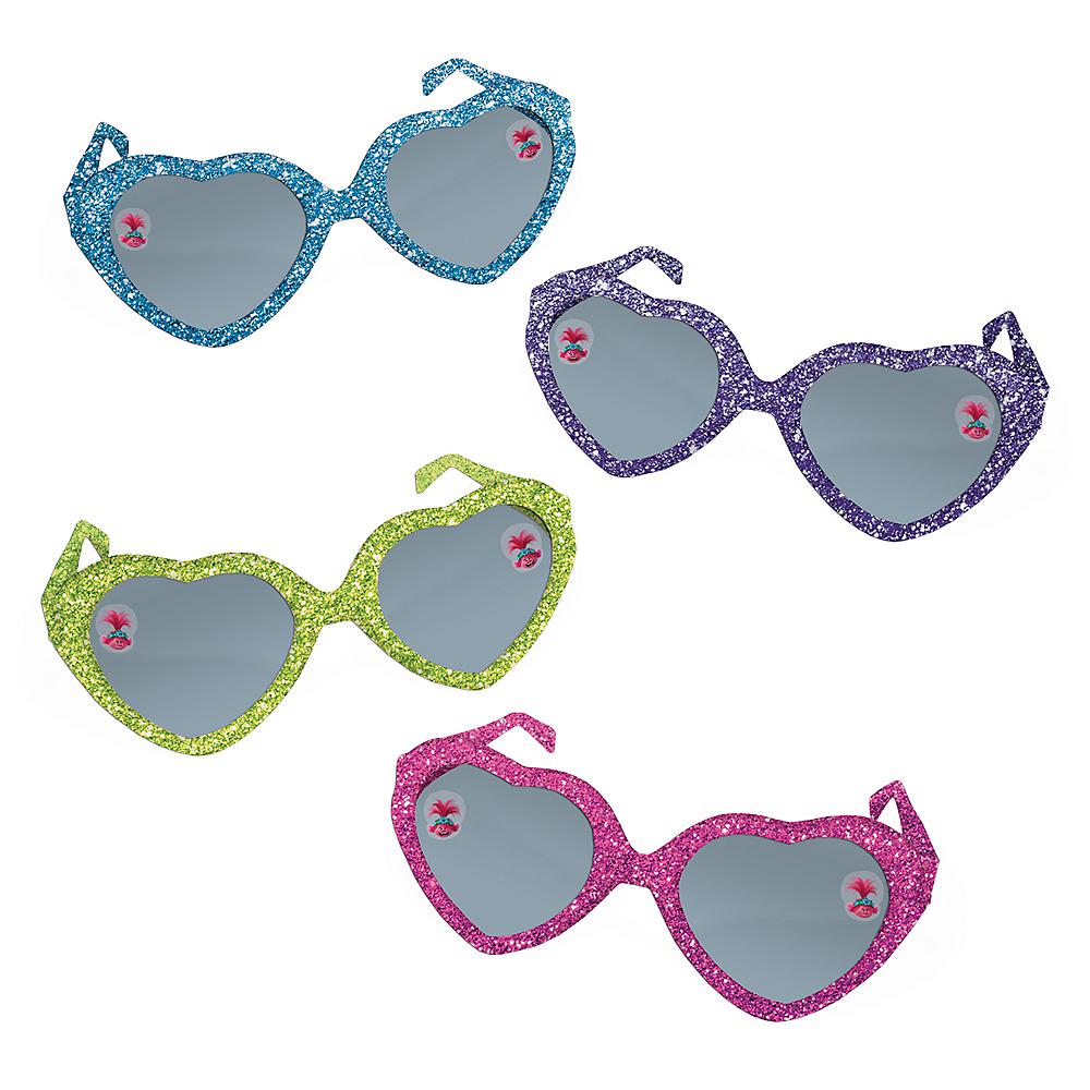 Glitter Trolls World Tour Sunglasses 8ct Image #1