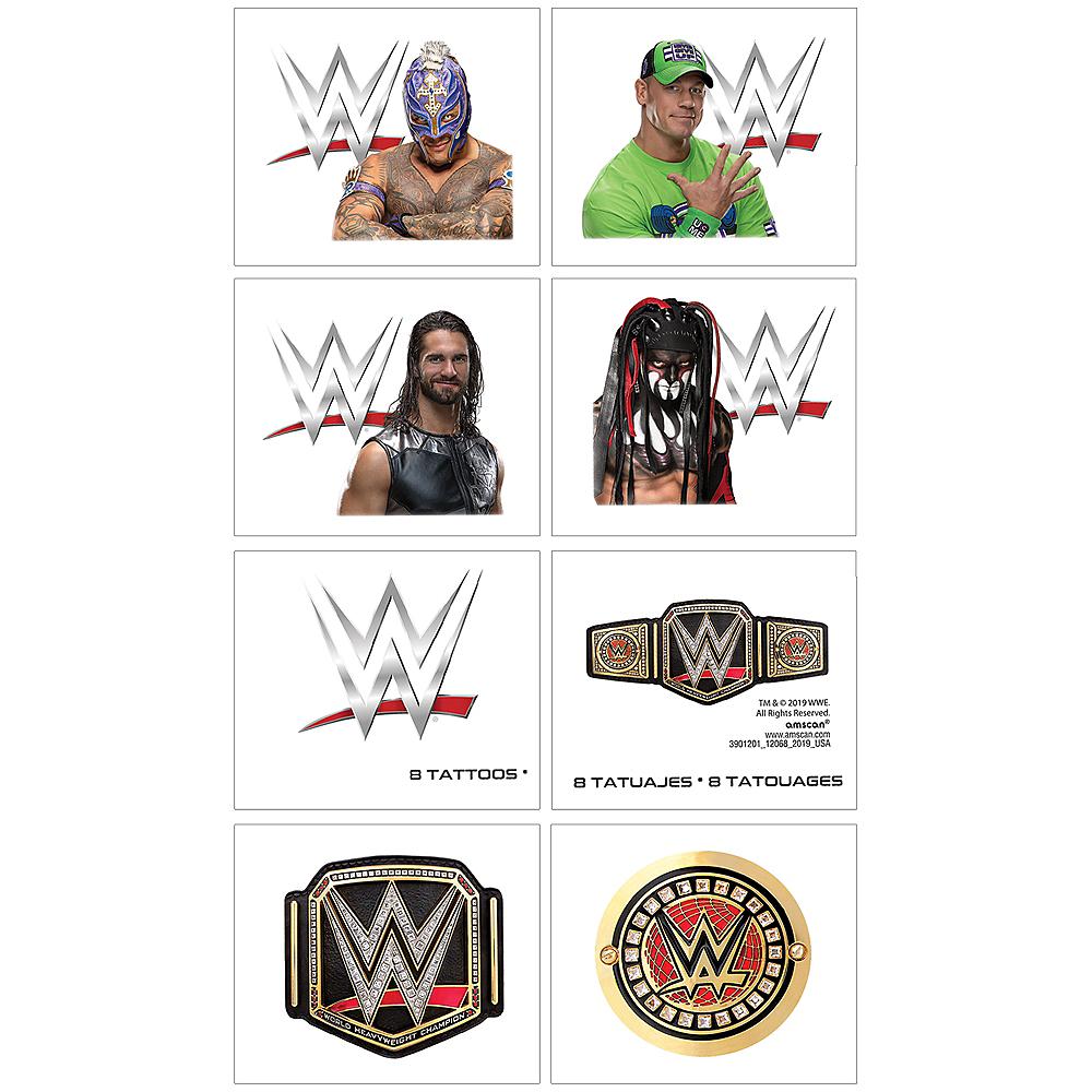 WWE Champion Tattoos 1 Sheet Image #1