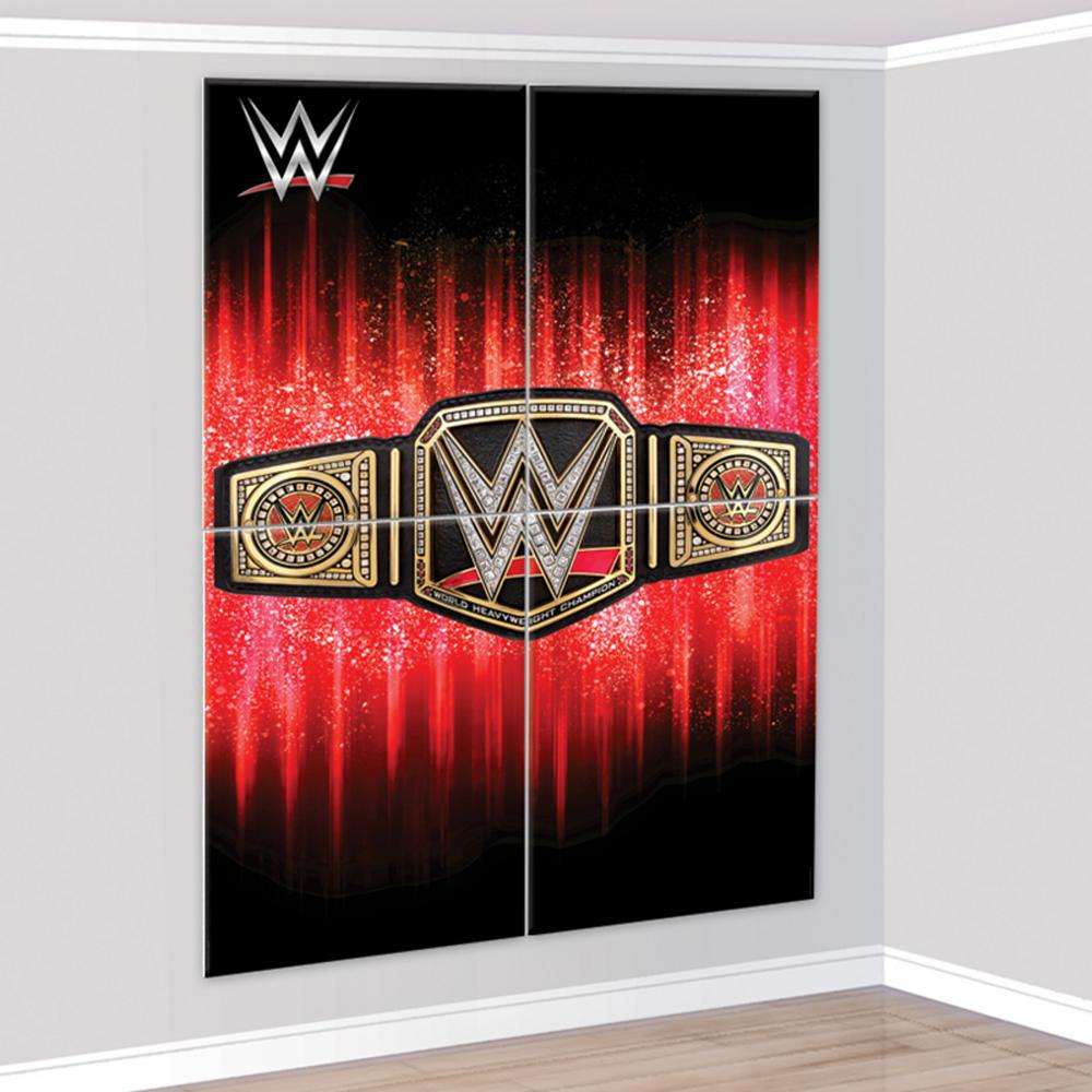 WWE Champion Scene Setter 4pc Image #1