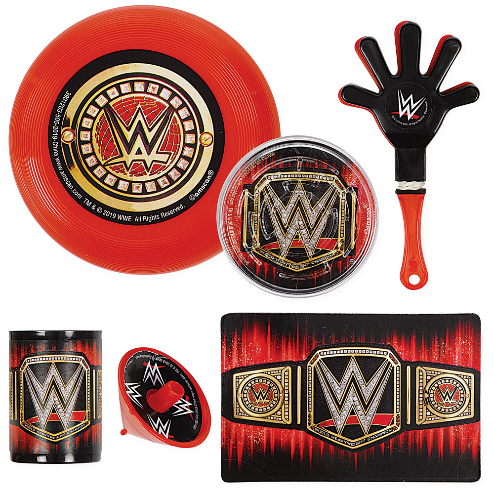 WWE Champion Favor Pack 48pc Image #1
