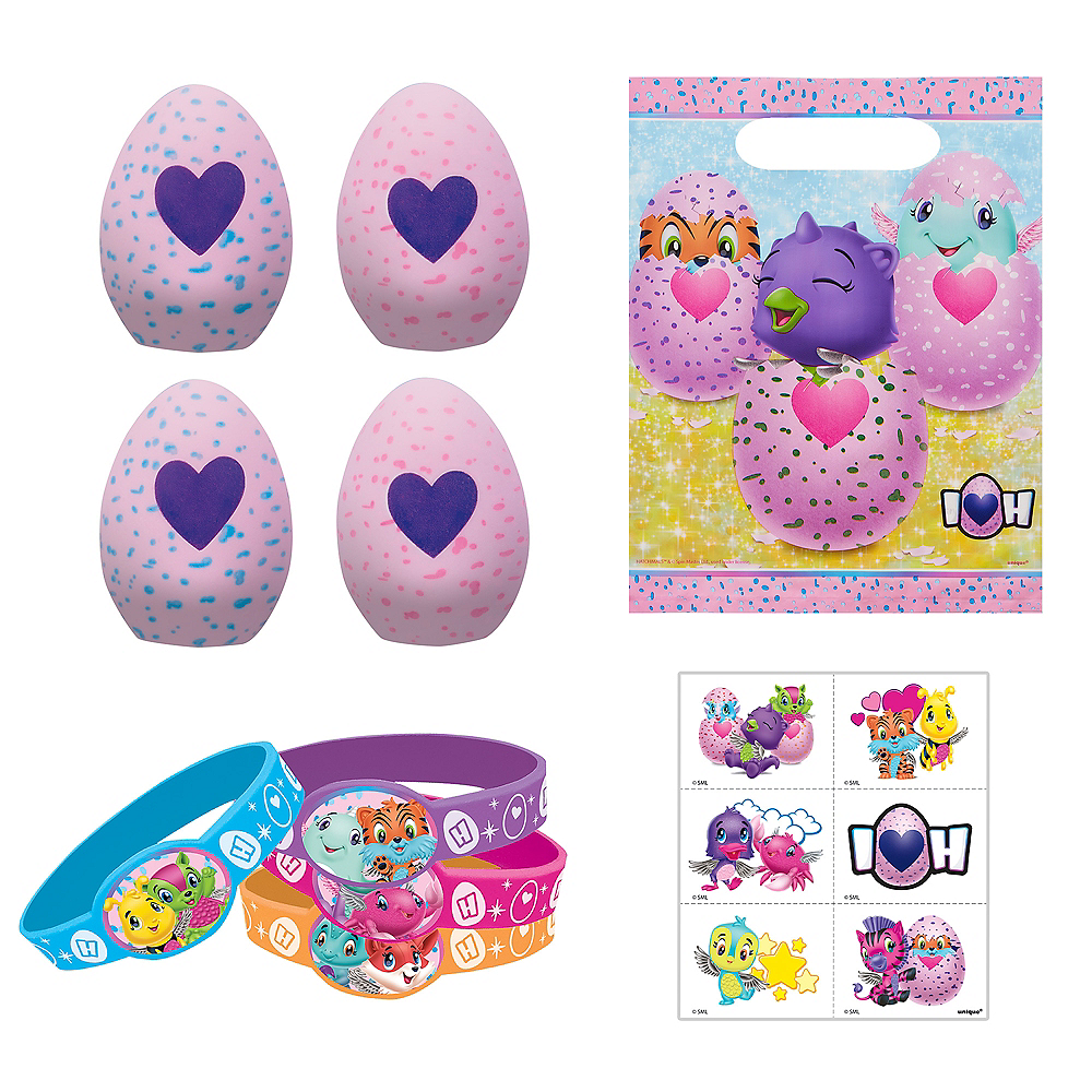 Hatchimals Party Favor Kit for 8 Guests Image #1
