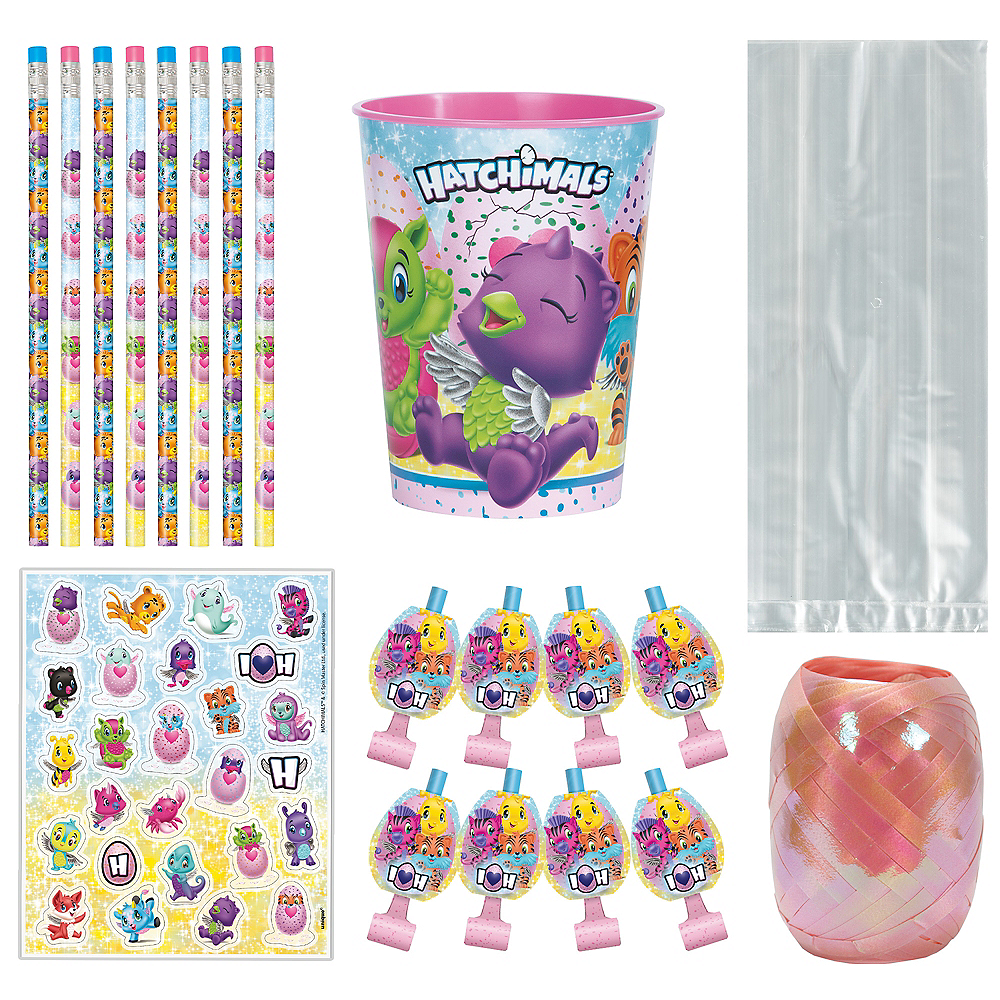Hatchimals Super Party Favor Kit for 8 Guests Image #1