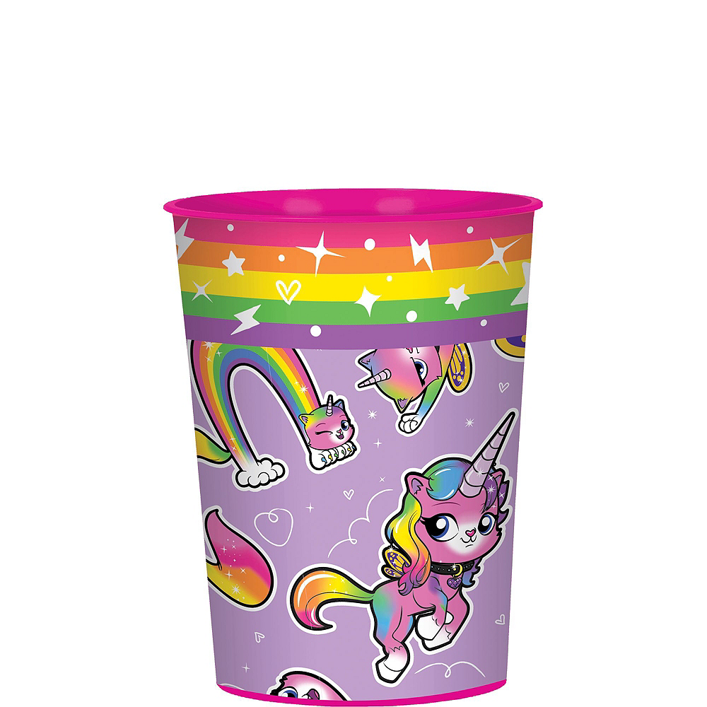 Rainbow Butterfly Unicorn Kitty Super Party Favor Kit for 8 Guests Image #2