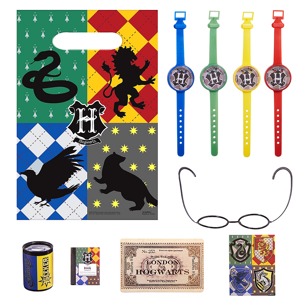 Harry Potter Party Favor Kit for 8 Guests Image #1