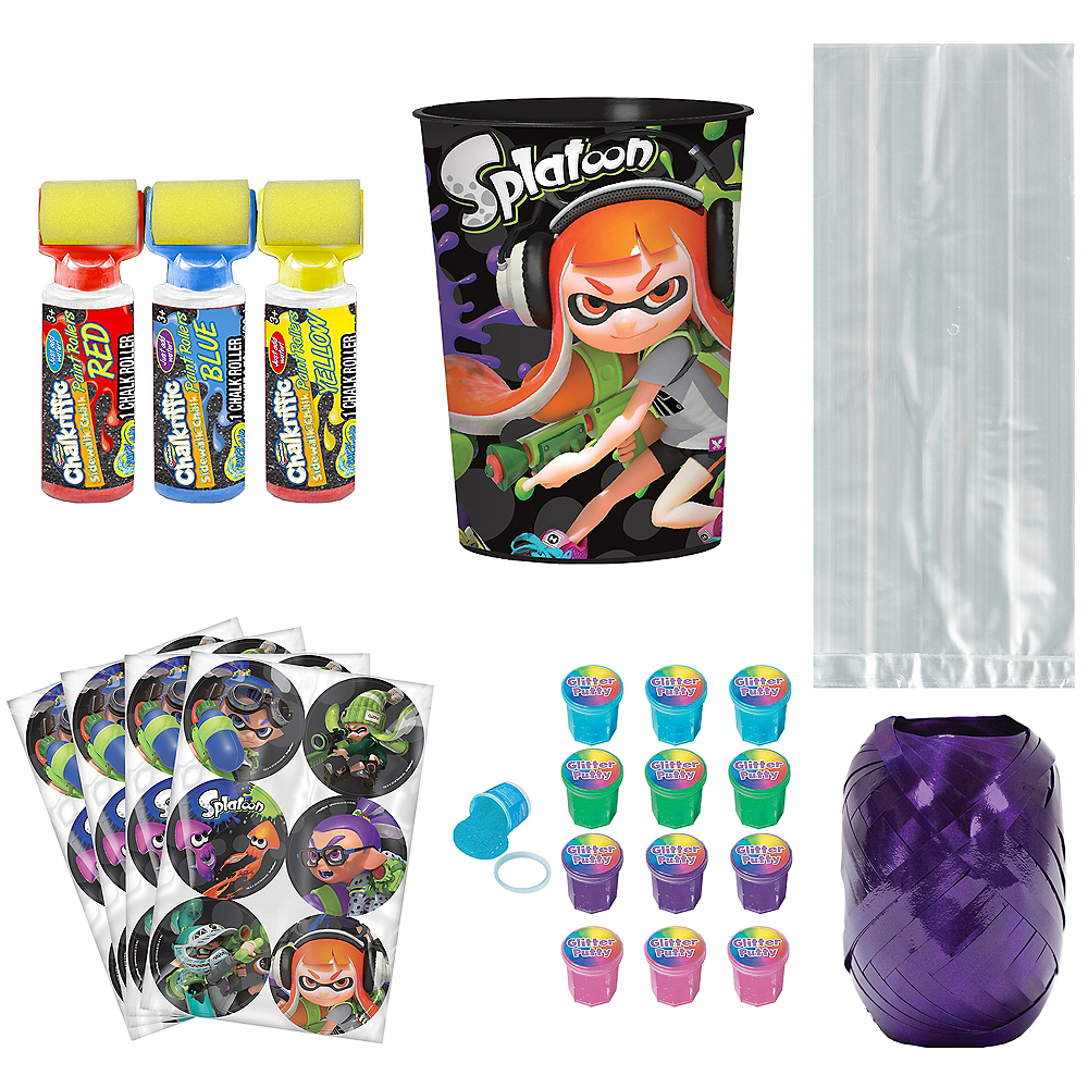 Splatoon Super Party Favor Kit for 8 Guests Image #1