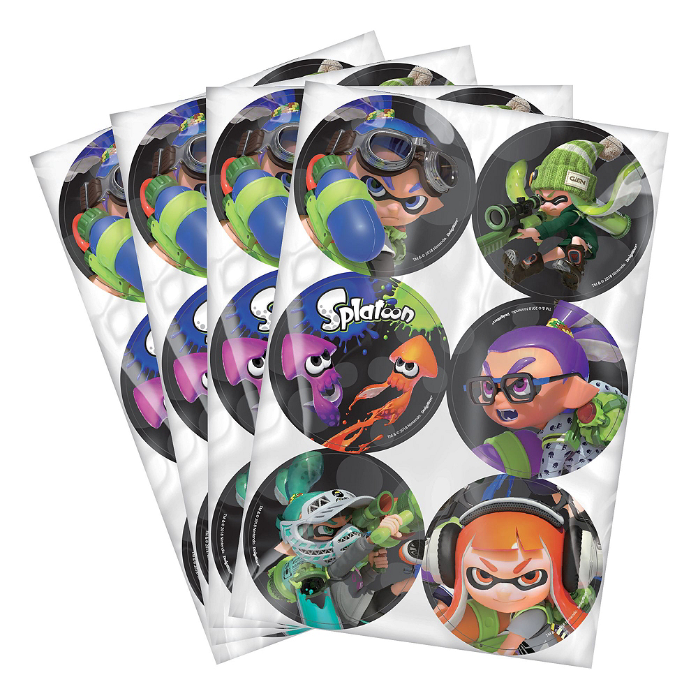 Splatoon Super Party Favor Kit for 8 Guests Image #6