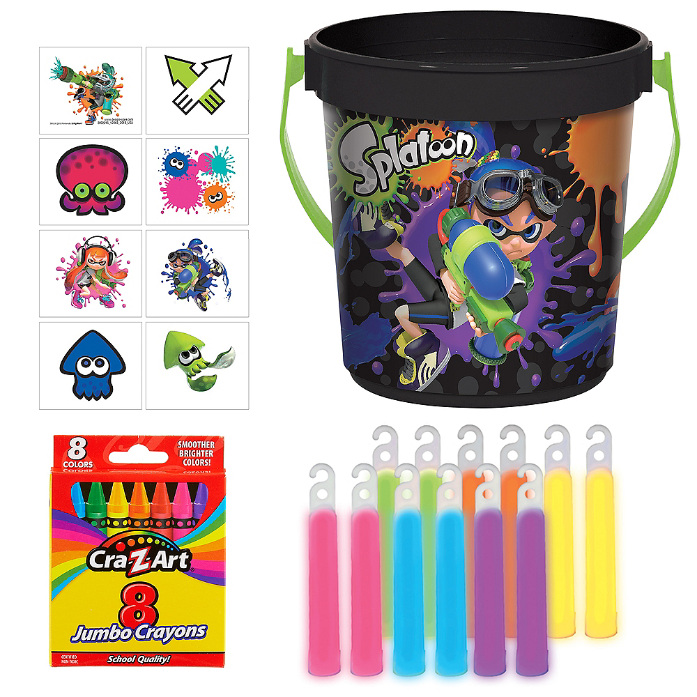 Splatoon Ultimate Party Favor Kit for 8 Guests Image #1