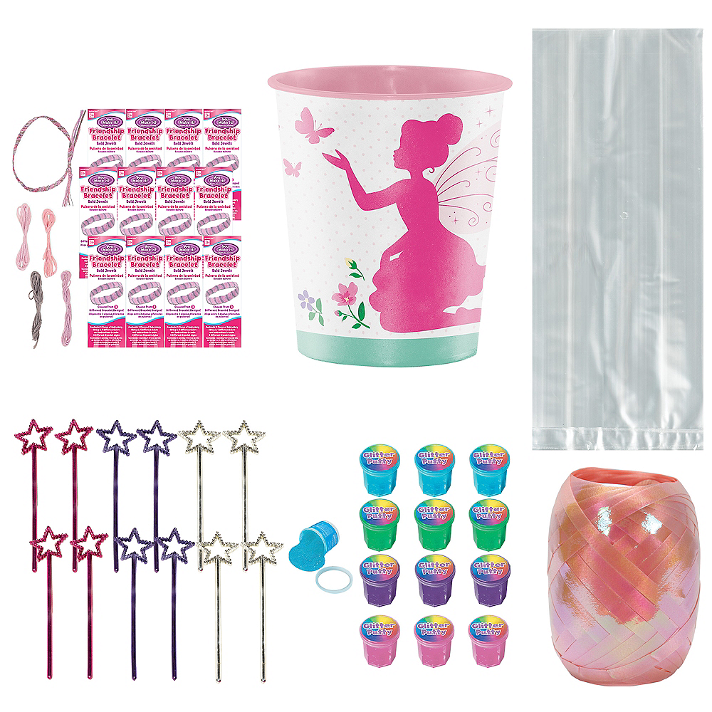 Floral Fairy Sparkle Super Party Favor Kit for 8 Guests Image #1