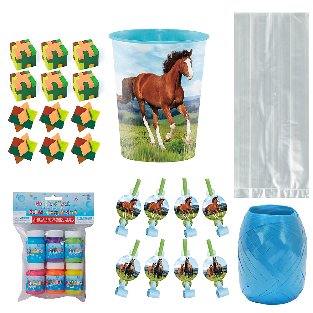 Wild Horse Ultimate Party Favor Kit for 8 Guests Image #1