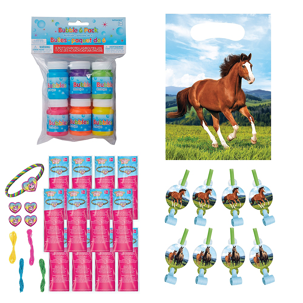 Wild Horse Party Favor Kit for 8 Guests Image #1