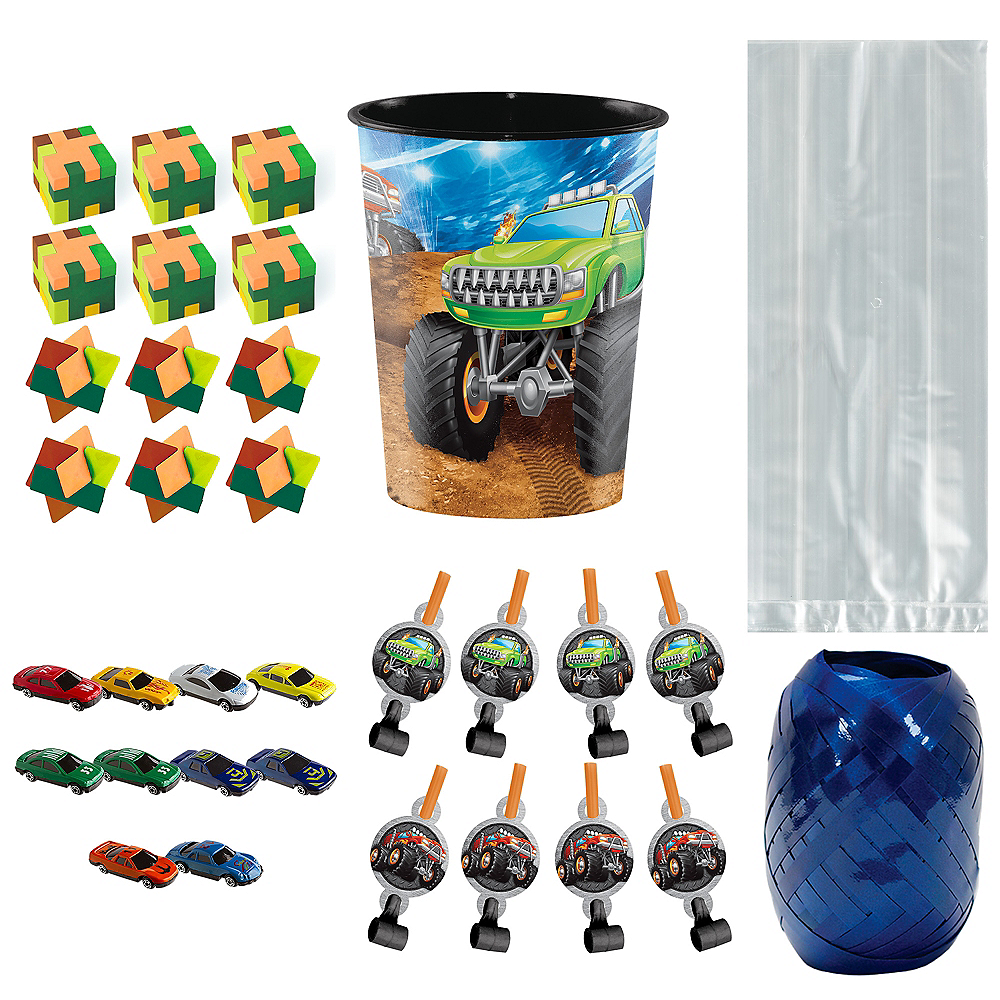 Monster Truck Super Party Favor Kit for 8 Guests Image #1