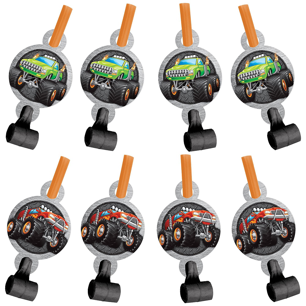 Monster Truck Party Favor Kit for 8 Guests Image #2