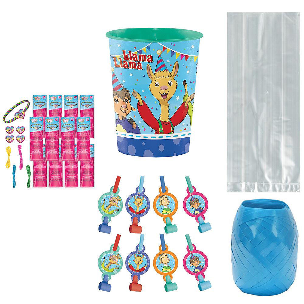 Llama Llama Super Party Favor Kit for 8 Guests Image #1
