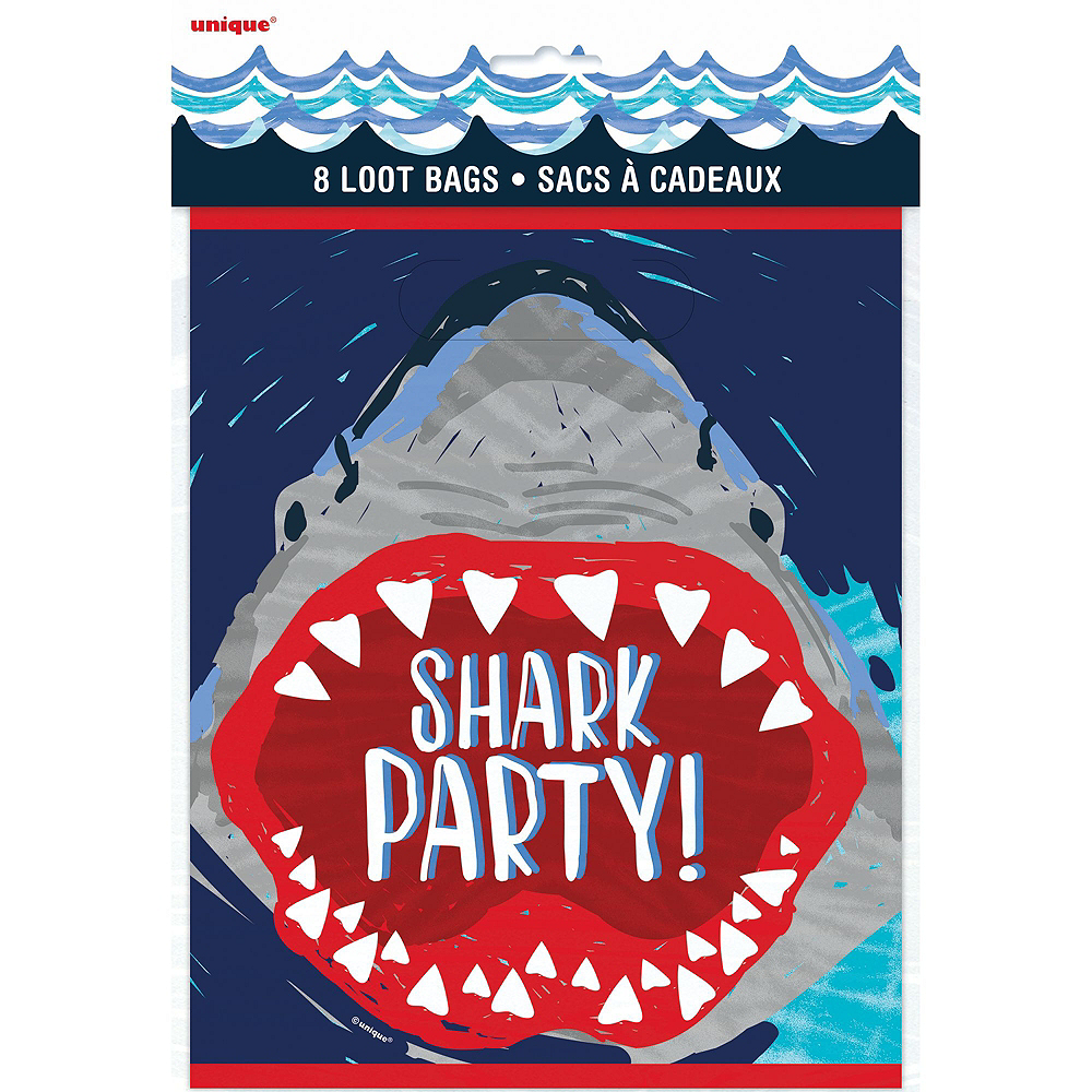 Shark Party Favor Kit for 8 Guests Image #2