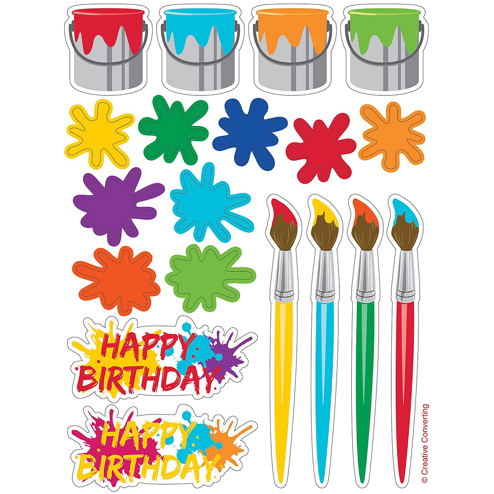 Art Party Favor Kit for 8 Guests Image #5