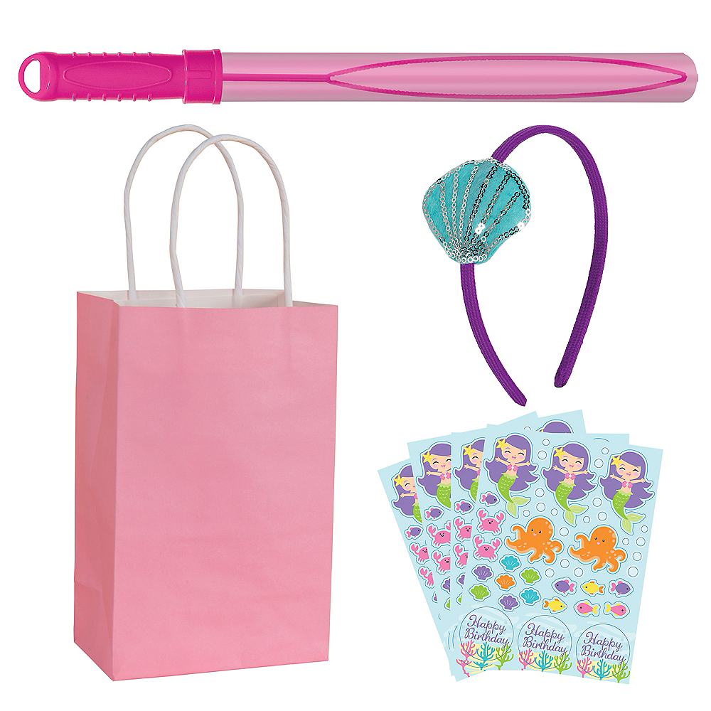 Mermaid Party Favor Kit for 8 Guests Image #1