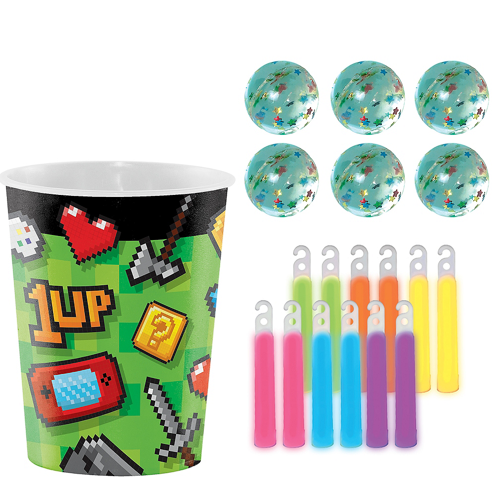 Video Game Party Favor Kit for 8 Guests Image #1
